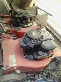 Two Briggs Stratton 3.5hp mowers