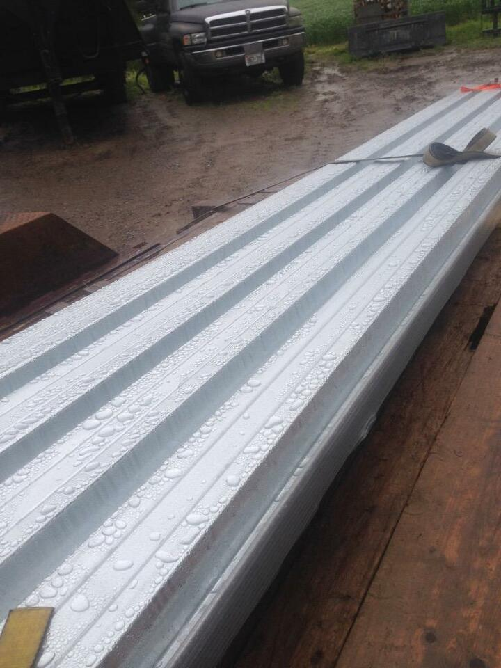 Heavy Duty Strong Corrugated Steel Panels Q Deck Roof