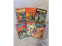 Huge Dalek Annual Collection - very rare and in mostly brilliant condition