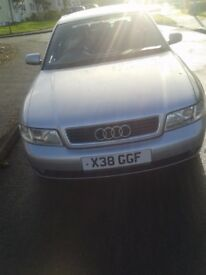 Perfect Christmas Gift, Superb Silver Audi A4 1.8, Only 84000 Miles.