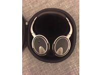 Brand New Goldring NS1000 Headband Headphones - Silver/Black