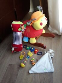 Small bundle of toys