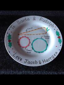 Personalised Santa Plate