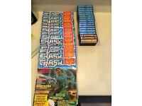 Spectrum Crash Magazines with cassettes