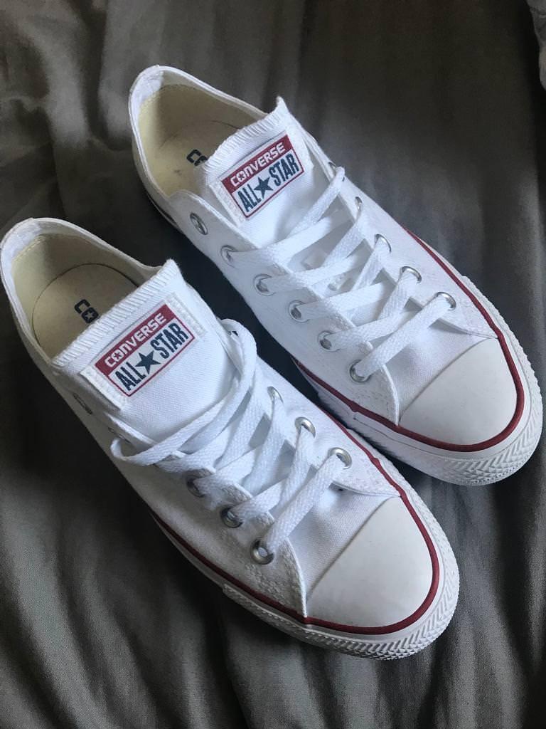White converse UK 6.5