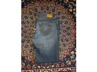 Womens true religion jeans waist 29 bootcut