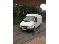 Mercedes sprinter 311 cdi 2003 lwb , low miles . Long mot