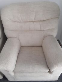 Sofa and 2 Armchairs - comfy and v. good condition must sell due to moving out