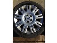 """Mondeo mk3 17"""" alloy wheels, fits transit connect"""