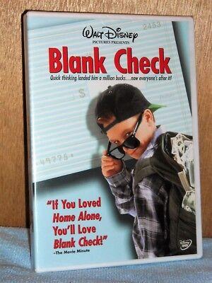 Blank Check  Dvd 2003  Brian Bonsall Family Comedy New Karen Duffy Miguel Ferrer