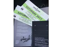 GOODWOOD FESTIVAL OF SPEED TICKETS X 2 JULY 1ST 2017