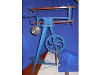 Hobbies treadle Fret Scrowl saw machine from 1930's