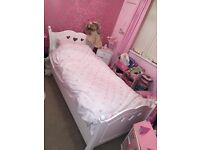 A beautiful single Laura Ashley bed