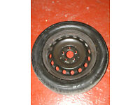 MERCEDES WHEEL RIM WITH TYRE 225/55/R16 FREE DELIVERY IN LIVERPOOL