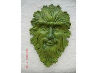 Green Man wall plaque