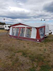 Dorema caravan awning, size 13 or 989to 1000