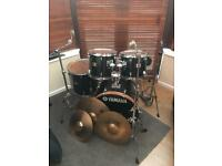 Yamaha YD full kit with bags, cymbals and sticks!