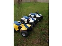 X3 mint Suzuki lt50 quads