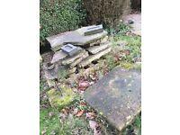 York Stone Slabs Various sizes
