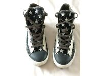 Converse Stars/Stripes boots