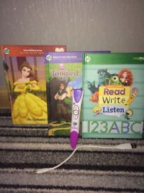 Leap reader and books