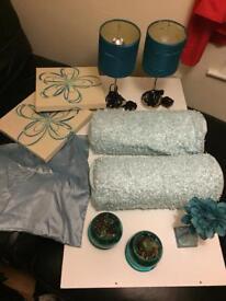 Bundle Bedroom Turquoise set.