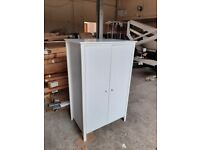 Brooklyn 2 Door Short Wardrobe - White