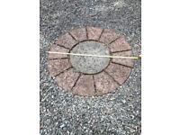 Circular paving