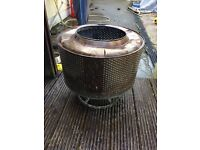 Outdoor fire heater camping BBQ stainless steel