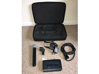 SHURE BLX24/BETA58 S8 wireless microphone with suitcase and accessories