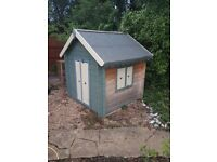 Childrens play house/garden wendy house