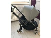 Bugaboo bee3 frame, seat unit and rain cover