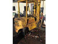 Coventry Climax fork lift truck . 2.5 Diesel .