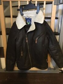 next boys coat 7-8 years