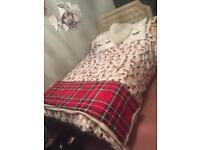Orthopaedic double bed