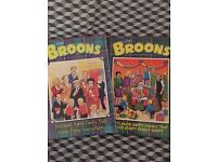DC Thomson (the Broons, or Wullie & the broons and oor wullie comics)