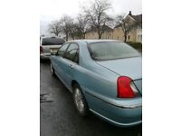 Very low Mileage Rover 75 Club saloon 1.8 VVT petrol '02 plate 52,000mls - £300