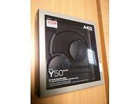 AKG Y50 Headphones New Unopened