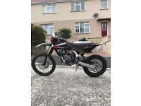 HUSQVARNA wr 125 ROAD LEGAL NOT ktm dtr yzf kxf crf dt aprilia