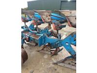 Ransome 3 furrow reversible plough