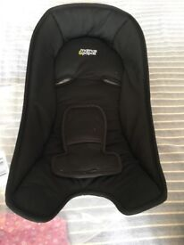 New born car seat insert