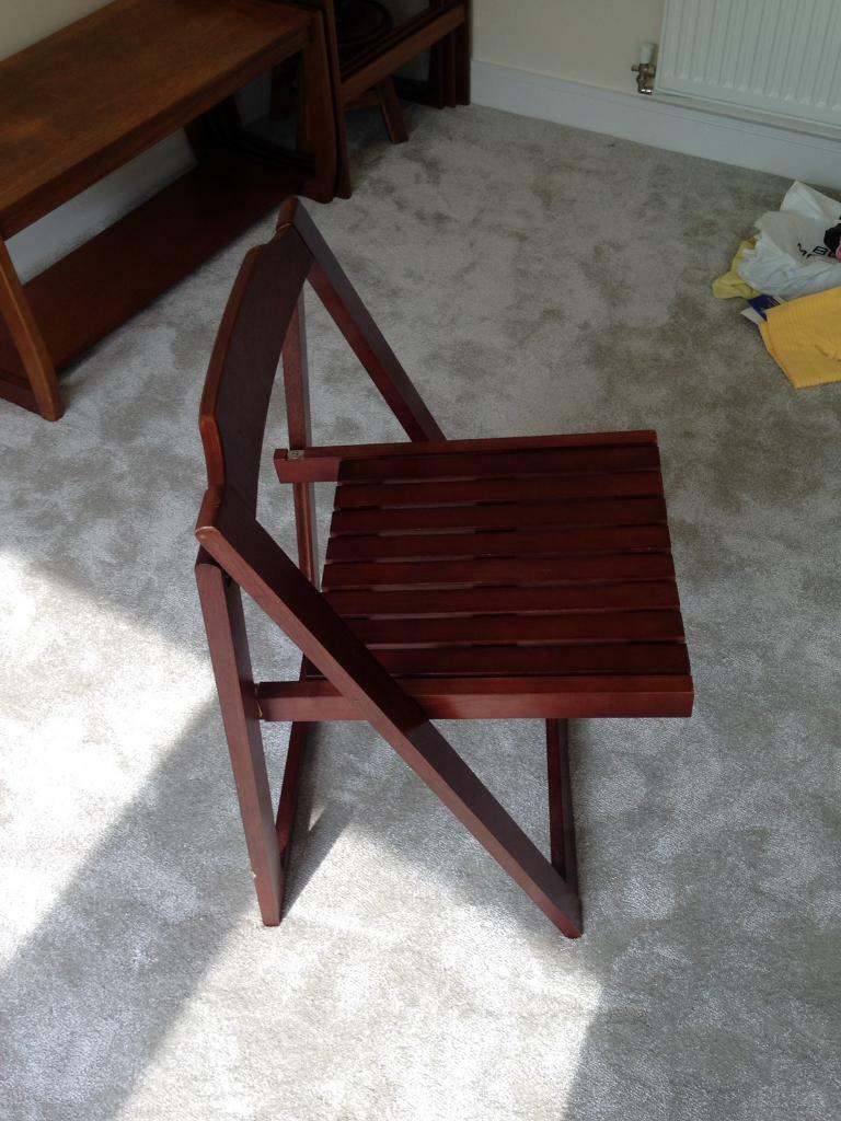 Fold up chair york