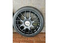 Team dynamics imola 17 inch 4 x108 with nannkang tyres