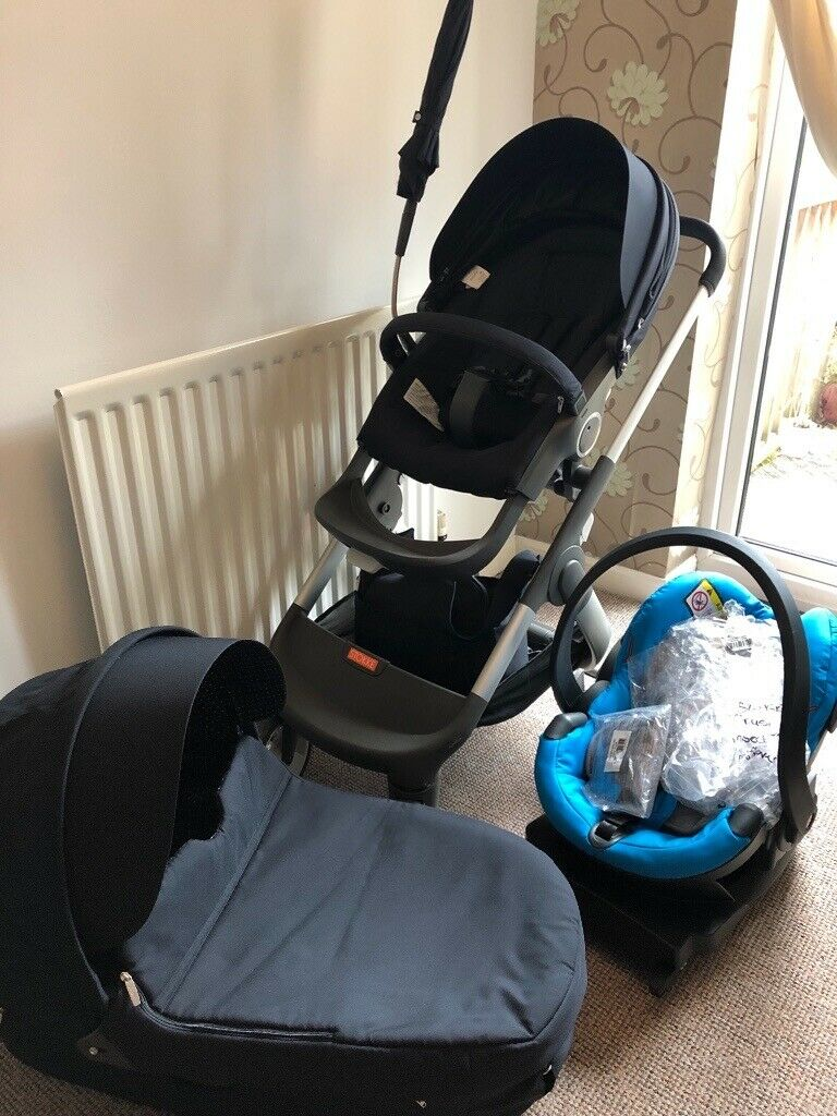 Stokke Crusi Stroller Travel System Push Chair Pram Seat Car Seat Isofix Base And Accessories In Downend Bristol Gumtree
