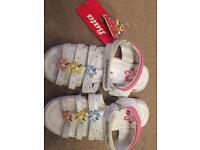 NEW girls sandals by Bata