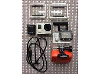 GoPro3 Silver Edition + Extra battery