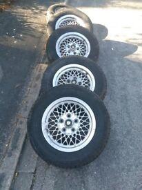 Jaguar XJS tyres and wheels