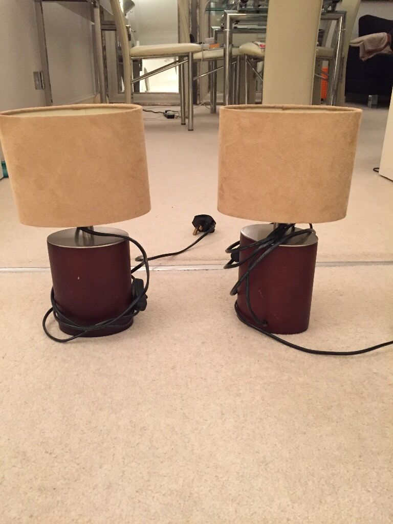 Set Of Bedside Table Lamps