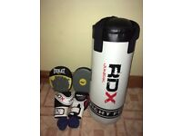 Junior punch bag, gloves and pads