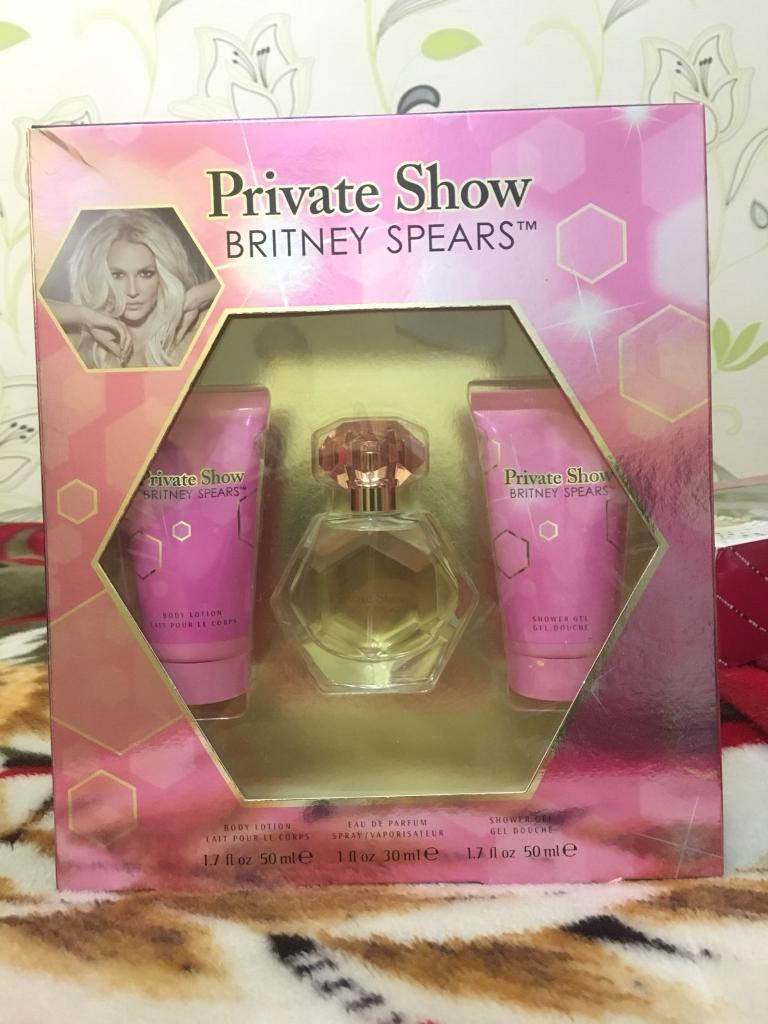 Britney Spears (Private show) perfume set BN